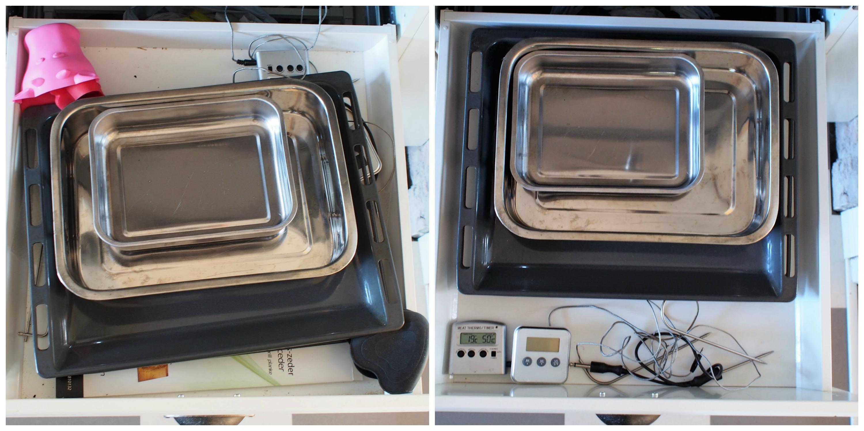 Organisera kökslådor 11
