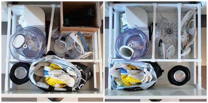 Organisera kökslådor 12