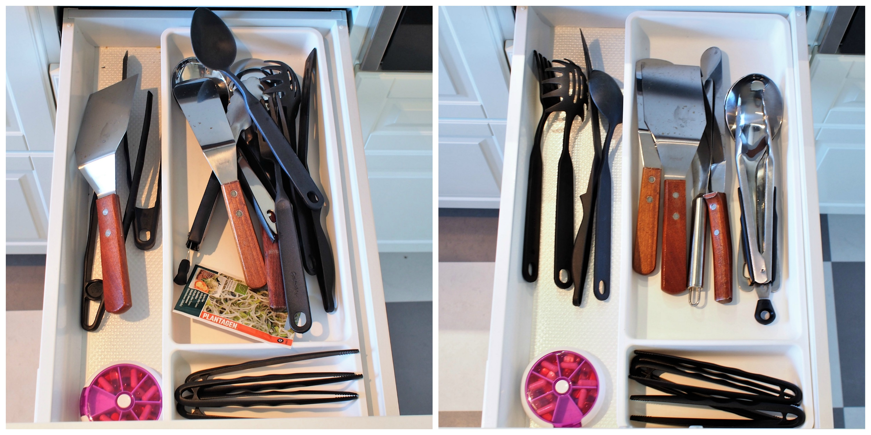 Organisera kökslådor 2