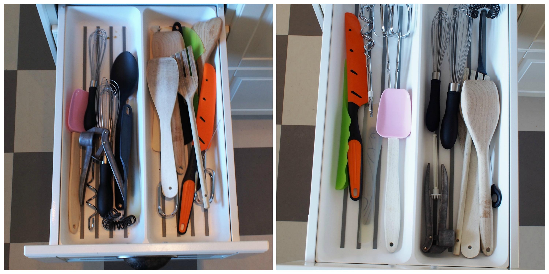 Organisera kökslådor 5