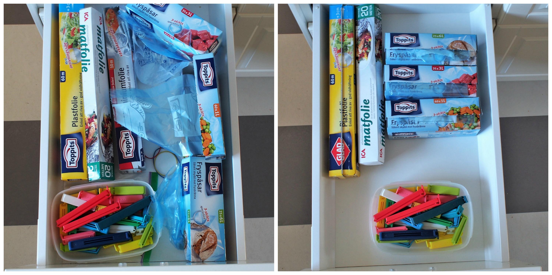 Organisera kökslådor 7