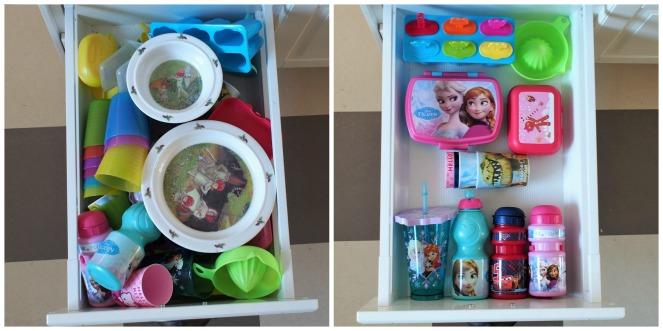 Organisera kökslådor 8